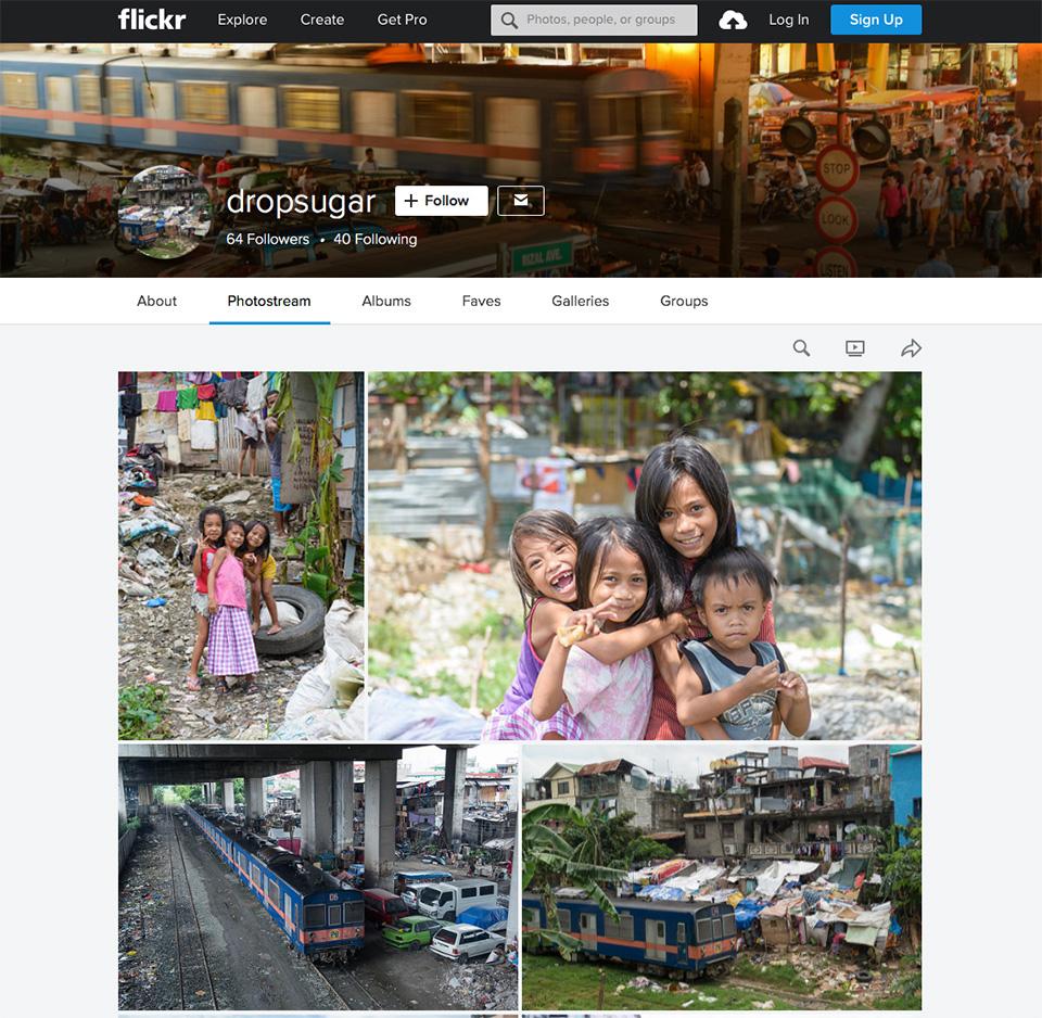 カメラマンのFickrアカウント
