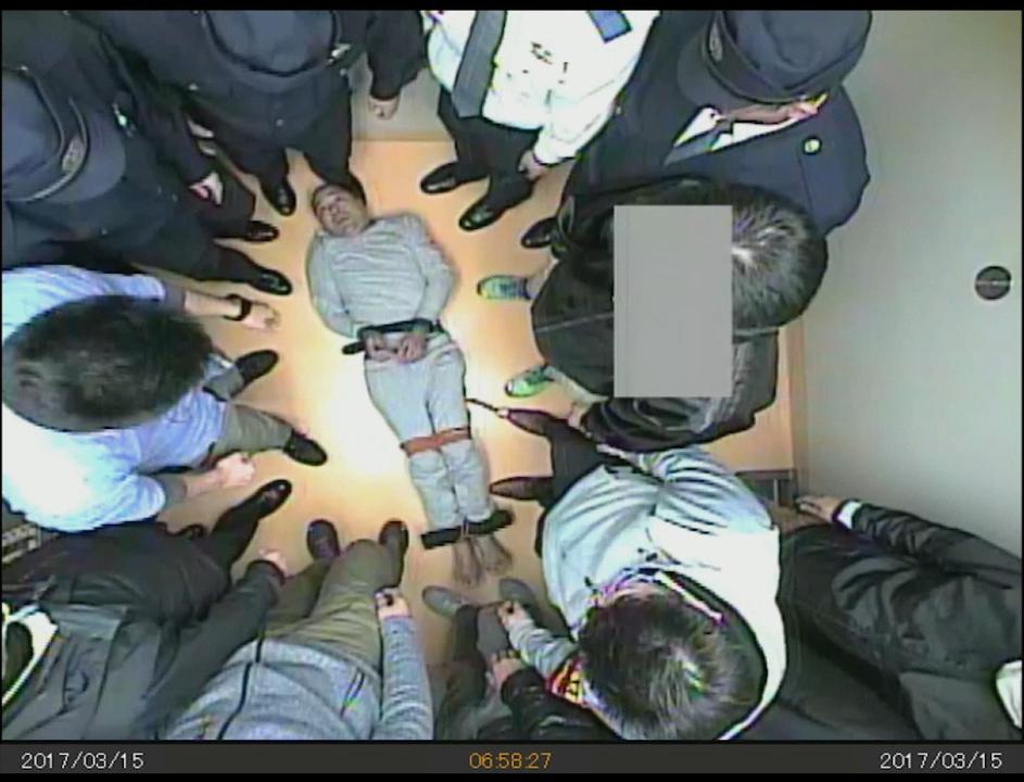 東京地方検察庁の取り調べ中に意識を失い、病院搬送後に死亡した事件