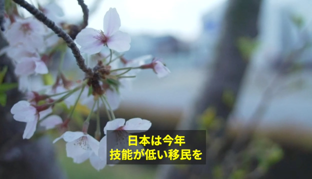 日本は今年技能が低い移民を