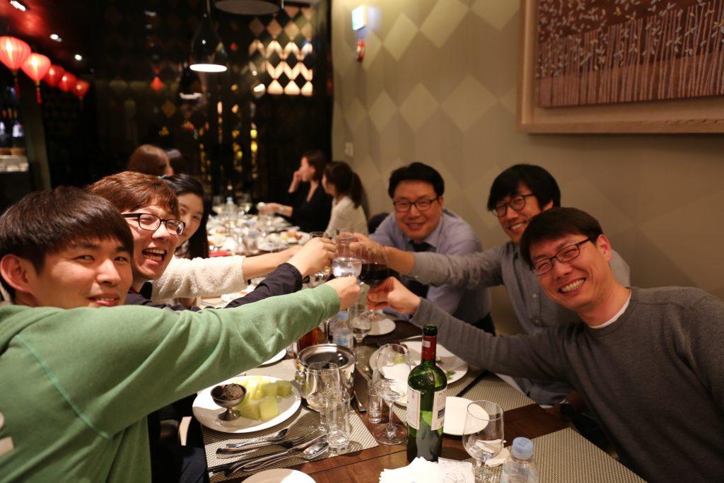 日本風居酒屋を楽しむ韓国ソウル