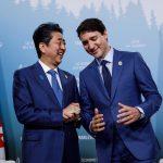 トルドー首相と安倍総理